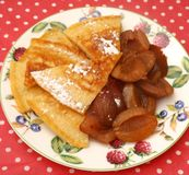 Pan Cakes Royaltyfria Bilder