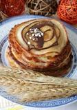 Pan Cakes Stock Image