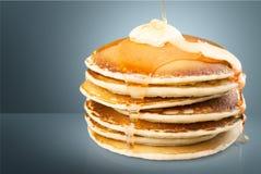 Pan cakes Royalty Free Stock Image