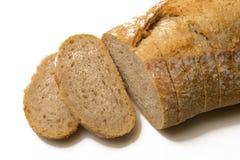 Pan Calma-cortado pan Foto de archivo libre de regalías