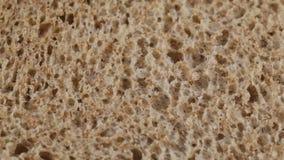 Pan-carrè mit Getreide stock footage