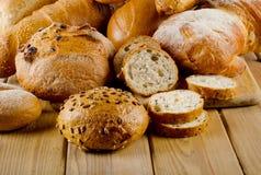Pan cocido al horno Foto de archivo libre de regalías