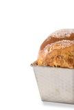 Pan cocido al horno hogar del azúcar Imagenes de archivo