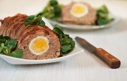 Pan con carne Fotos de archivo