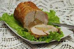 Pan con carne cocido Fotos de archivo libres de regalías