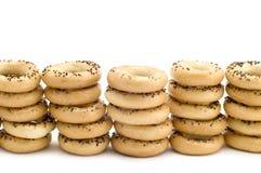 Pan con el germen de amapola Fotos de archivo