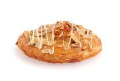 Pan con las nueces Fotografía de archivo