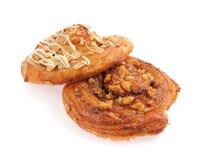 Pan con las nueces Foto de archivo libre de regalías