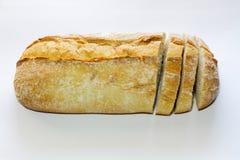 Pan con las rebanadas fotografía de archivo libre de regalías