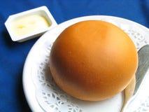 Pan con mantequilla imagen de archivo libre de regalías