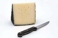 Pan con queso Imágenes de archivo libres de regalías