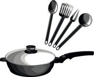Pan and cookware Stock Photos