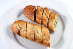 Pan de ajo imagenes de archivo