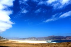 Pan de Azucar beach Chile. Atacama Stock Image