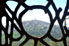 Pan de azucar hill, Piriapolis Stock Photography