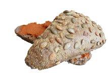 Pan de Brown Imagenes de archivo