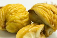 Pan de castañas cocidas al vapor Fotos de archivo