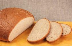 Pan de centeno cortado Foto de archivo