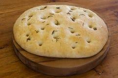 Pan de Focaccia Foto de archivo libre de regalías