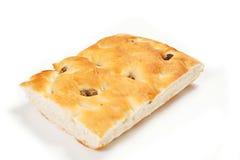 Pan de Focaccia Imagen de archivo libre de regalías