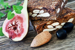 Pan de Higo - Spanish fig bread Royalty Free Stock Photography