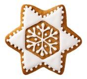 Pan de jengibre de la Navidad imagen de archivo libre de regalías