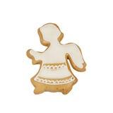 Pan de jengibre de la Navidad Imagen de archivo