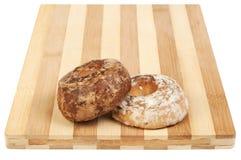 Pan de jengibre de la vainilla y del chocolate Imagen de archivo libre de regalías