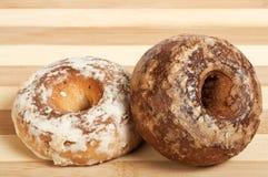 Pan de jengibre de la vainilla y del chocolate Imagen de archivo