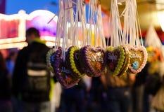 Pan de jengibre en carnaval Fotografía de archivo libre de regalías