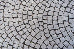 Pan de jengibre de Torun del footwalk con ruina en las juntas Imagenes de archivo