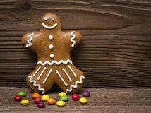 Pan de jengibre y caramelo Fotografía de archivo libre de regalías