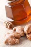Pan de jengibre y miel Foto de archivo
