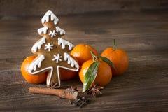 Pan de jengibre y naranja Fotos de archivo libres de regalías