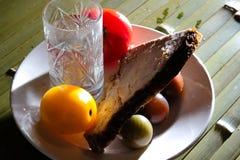 Pan de la carne al vidrio de vodka Fotografía de archivo libre de regalías