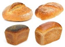 Pan de la harina del centeno y de trigo imagen de archivo libre de regalías