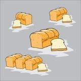 Pan de la libra, panadería Fotos de archivo