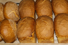 Pan de la mantequilla, pan, pan Imagenes de archivo