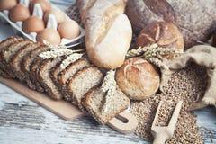 Pan de la panadería Imagenes de archivo