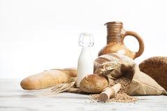 Pan de la panadería, desayuno Fotografía de archivo