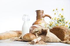 Pan de la panadería, desayuno Imagenes de archivo