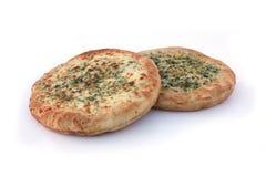 Pan de la pizza fotos de archivo