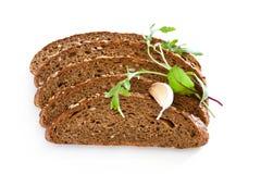 Pan de la rebanada Foto de archivo libre de regalías