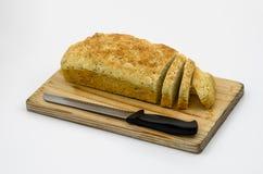 Pan de la soda cortado fotografía de archivo libre de regalías
