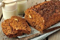 Pan integral de la torta Fotos de archivo