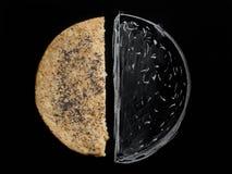Pan de la tortilla del grano imagen de archivo libre de regalías