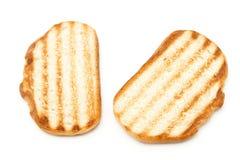 Pan de la tostada Fotos de archivo