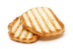 Pan de la tostada Imagenes de archivo