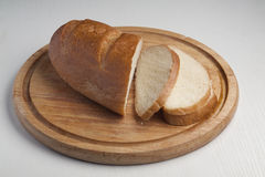 Pan de las rebanadas Foto de archivo libre de regalías