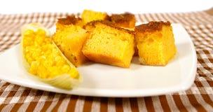Pan de maíz fotografía de archivo